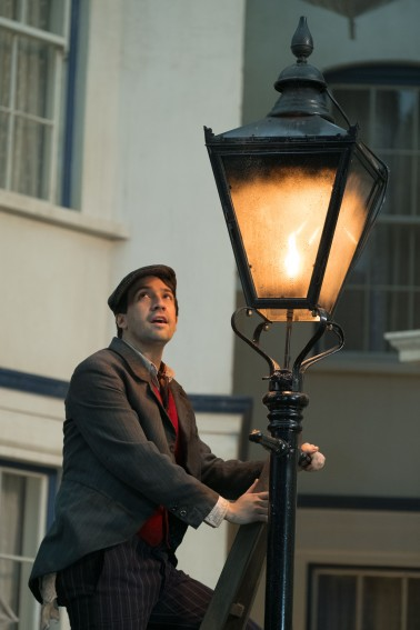 Lin-Manuel Miranda is jack in Disney's MARY POPPINS RETURNS, a sequel to the 1964 MARY POPPINS, which takes audiences on an entirely new adventure with the practically perfect nanny and the Banks family.