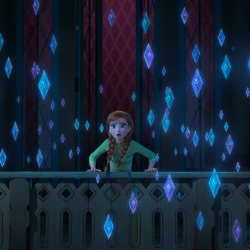 "SPIRITS OF NATURE -- – In Walt Disney Animation Studios' ""Frozen 2,"" Anna (voice of Kristen Bell) learns that a voice has been calling Elsa, urging her to venture into the unknown where she must face the spirits of nature—wind, fire, earth and water. ""Frozen 2"" opens in U.S. theaters on Nov. 22, 2019. © 2019 Disney. All Rights Reserved."